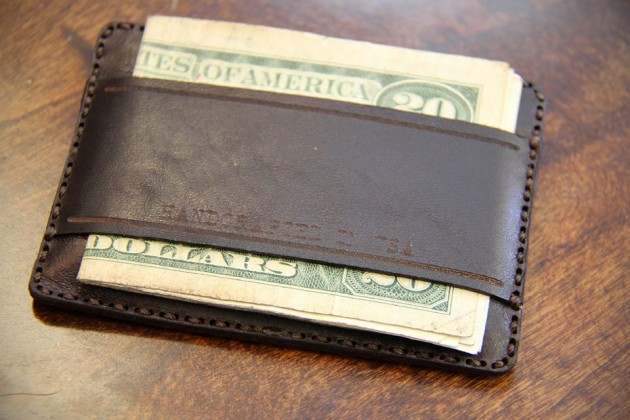 Bronxton Minimalist Leather Wallet