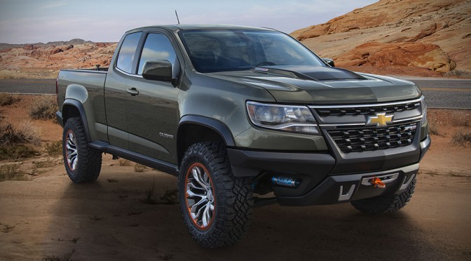Chevrolet Colorado ZR2 Concept Truck