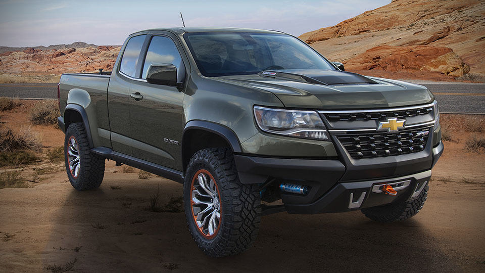 Chevrolet Colorado ZR2 Concept: Off-road Trucks Never Look ...