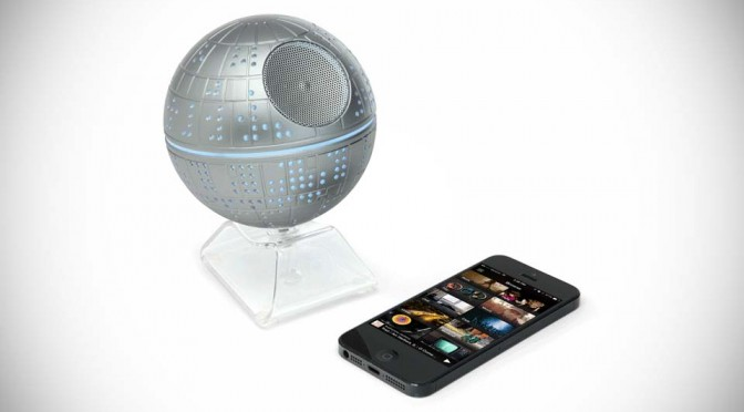 This Death Star Bluetooth Speaker Can Playback More Than Imperial March