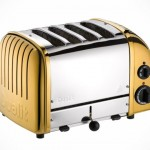 Dualit's Classic Toaster Gets Gold Plated Makeover for the Ultimate (Breakfast) Opulence