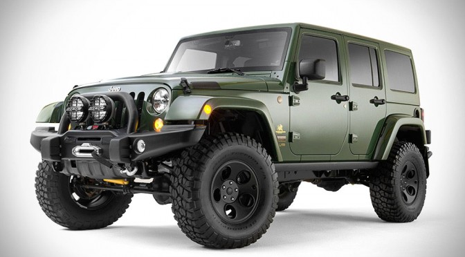 Filson and AEV Teams Up Again, This Time to Create This Go Anywhere Jeep Wrangler