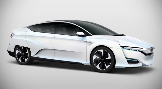Honda FCV Concept Fuel Cell Vehicle