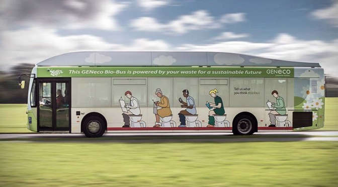 Poop-powered Bio-Bus Actually Makes the City Smells Better. What???
