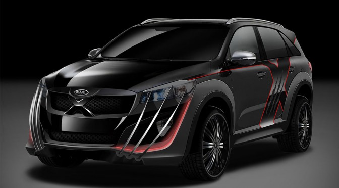 'X-Men' Inspired KIA Sorento Will Help Save Australian Open 2015 from the Evil Robotic Antagonists