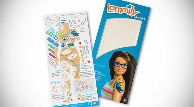 Lammily Marks Lets You Add Cellulite, Scars and Even Stretch Marks to Normal Body 'Barbie'