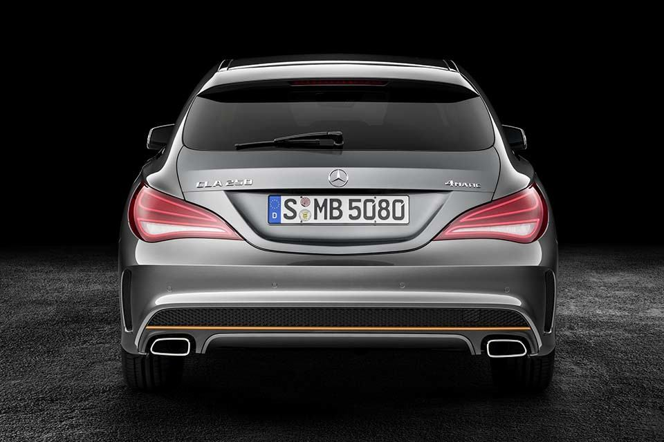 Mercedes benz cla shooting brake unveiled includes a for Mercedes benz cla 250 top speed