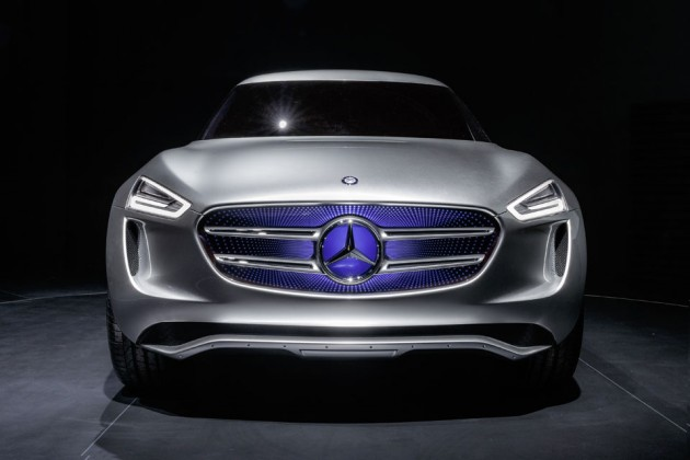 Mercedes-Benz Vision G-Code SUC Study