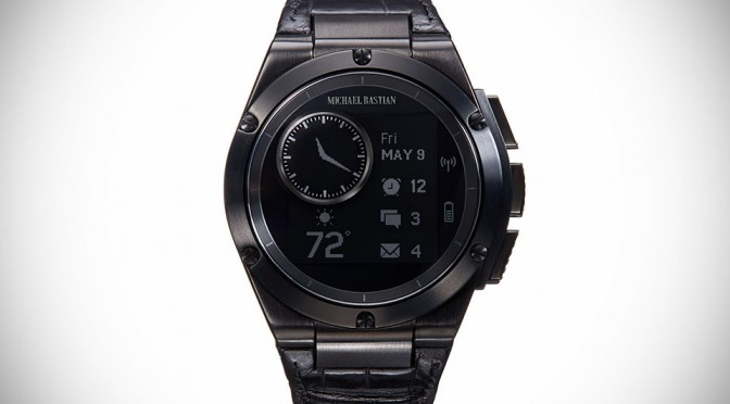 "HP-engineered Michael Bastian Smartwatch ""MB Chronowing ..."