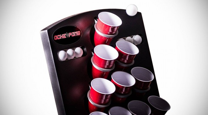 Oche Pong Wall-mountable Beer Pong