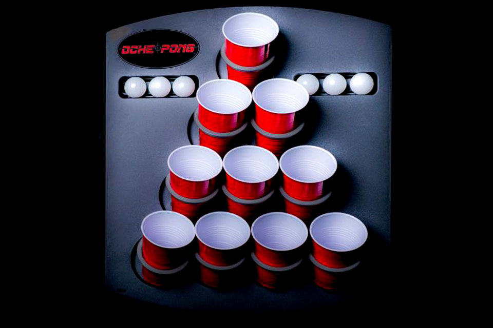 Oche Pong Lets You Take the Game of Beer Pong Anywhere. Yes. Anywhere. - MIKESHOUTS