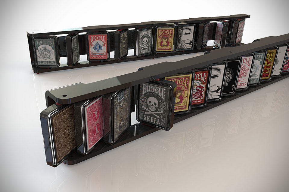 Orbiter Lets You Display Your Playing Card Collection With