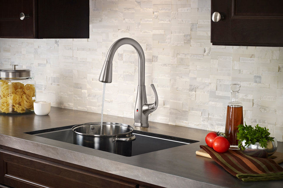 Pfister React Brings Touch Free Faucet To Your Kitchen