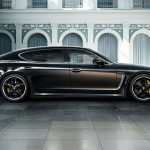 Porsche Panamera Executive Exclusive Turbo Has Longer Wheelbase, Sports Porsche's First Two-tone Color
