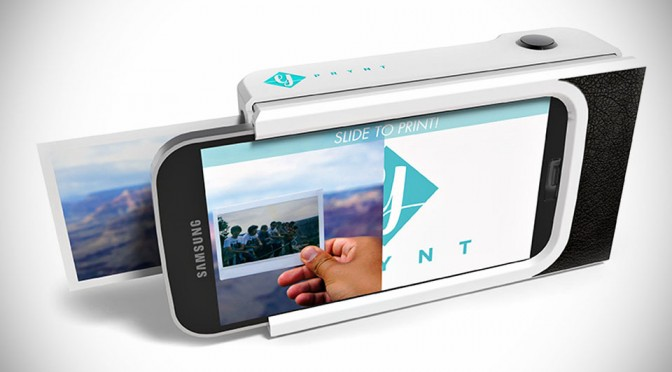 Prynt Case Wants to Turn Your Smartphone into an Instant Camera