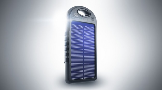 Pulse is a Super Compact Solar-powered Portable Battery That Can Charge Two Devices Simultaneously