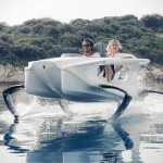 Quadrofoil Electric Hydrofoil Personal Watercraft Lets You 'Fly' Over Water at Up to 21 Knots