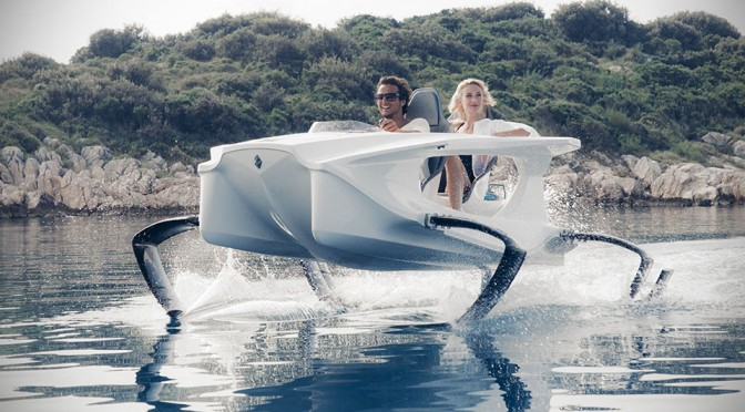Quadrofoil Electric Hydrofoil Personal Watercraft