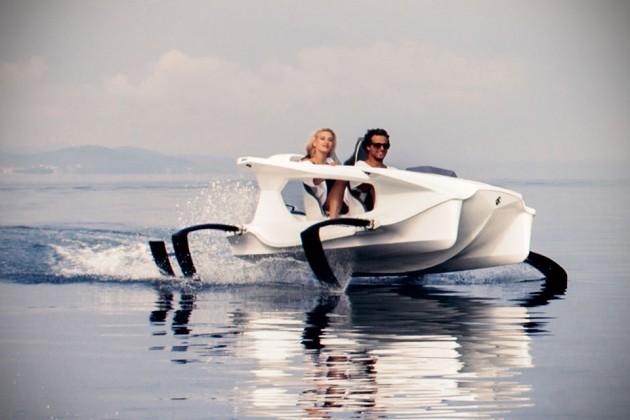 Quadrofoil Electric Hydrofoil Personal Watercraft