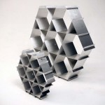Ruche is a Minimalistic, Strong and Sustainable Shelving System