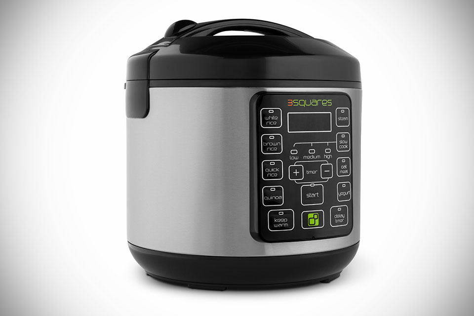 Tupperware rice cooker time