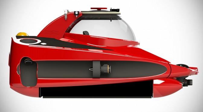 """U-Boat Worx's New HP Sport Sub 2 is a $1.35M """"Subsea Ferrari"""""""