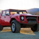 "Here's Your Chance To Own a Pristine Condition 1989 Lamborghini ""Rambo Lambo"" LM002"
