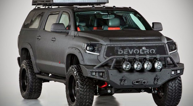 Devolro S Custom Toyota Tundra Is A 650 Hp Good Looking