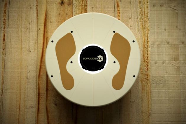 3DRudder Feet-controlled 3D Navigation and Motion Controller
