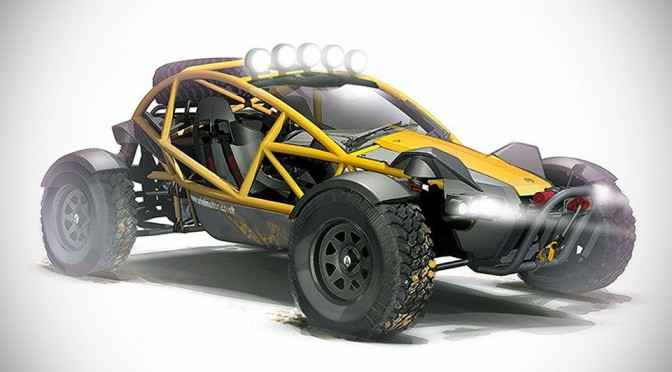 Ariel Nomad Off-road Vehicle