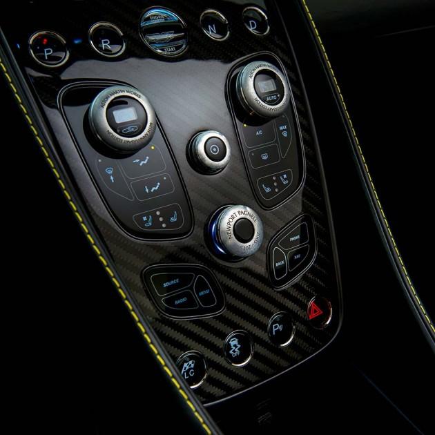 Aston Martin 60th Anniversary Vanquish Has Rotary Dials