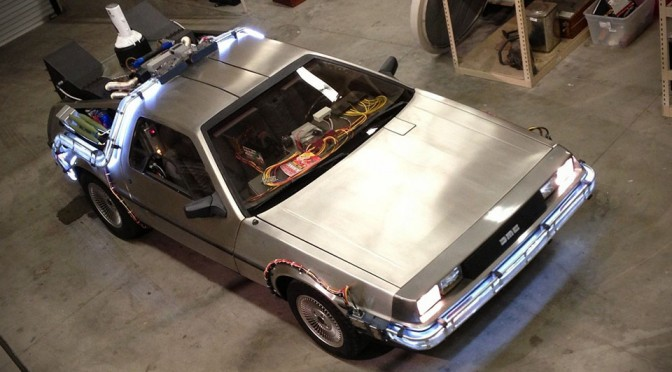For $30,000, You Can Turn Your DeLorean Into A Time Machine From Back to the Future Movies