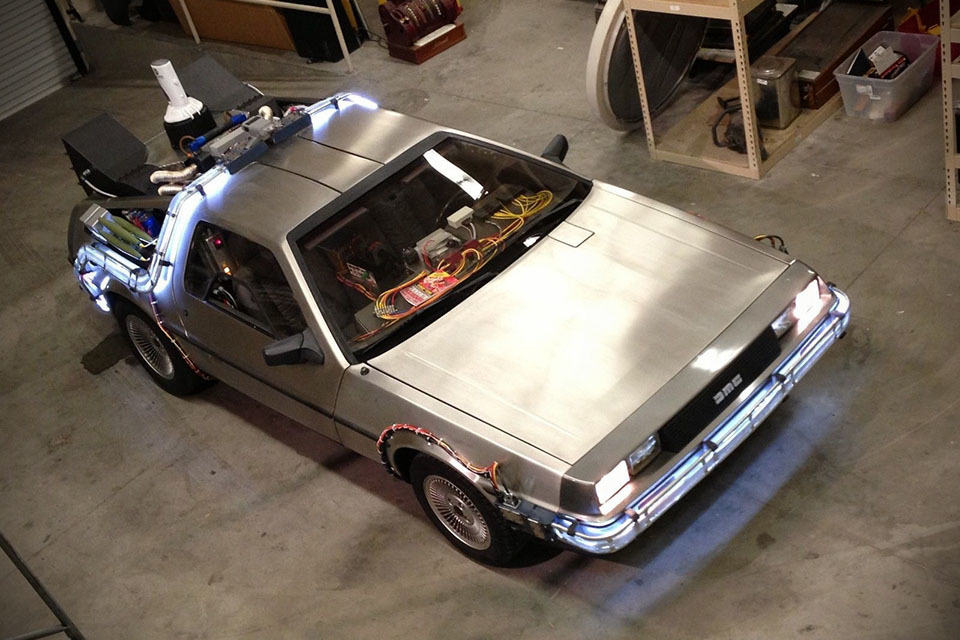 For 30 000 You Can Turn Your Delorean Into A Time