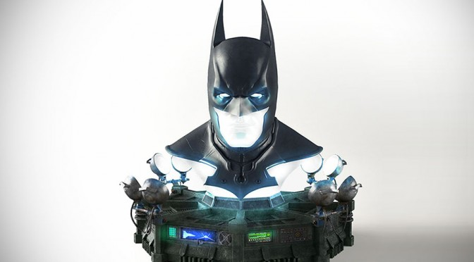 Batman Arkham Origins Batman Full Scale Cowl Replica