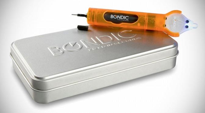 Bondic is Not a Glue, it is Liquid Plastic That Hardens with UV Light