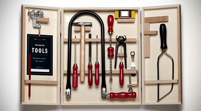 The Box of Tools is What You Need to Get Your Kids Started in Carpentry