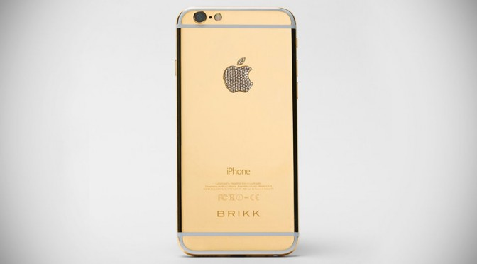 Brikk Lux iPhone 6 Secure Marries Luxury and 256-bit Encryption