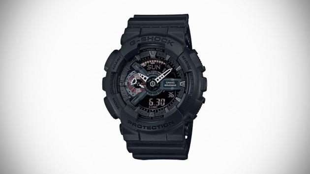 Casio G-SHOCK Military Black Series Watch For 2015 - GA-110MB