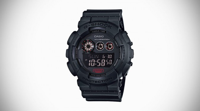 Casio G-SHOCK New Military Black Series For 2015 Arrives In January