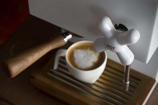 Anza Corian Espresso Machine