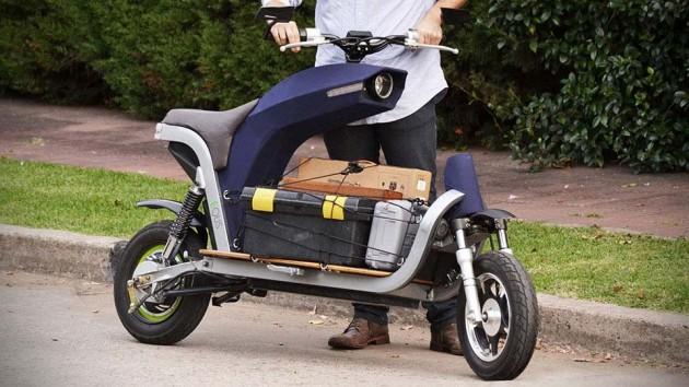 EQUS Cargo Motorcycle Concept
