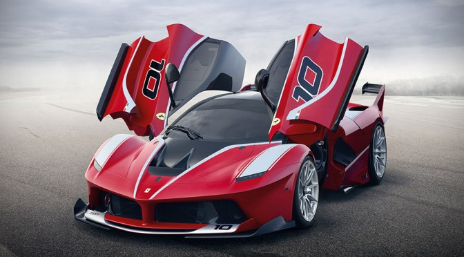 1,035HP Ferrari FXX K is Made for the Tracks, But Not for Competition