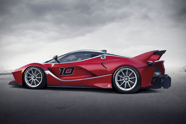 Ferrari FXX K Hybrid Hypercar
