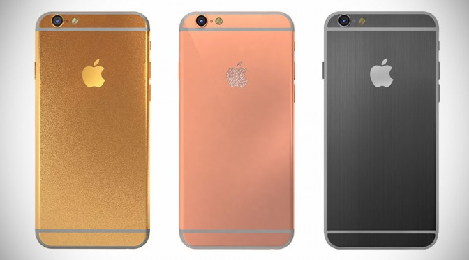 Gold iPhone by Hadoro Paris