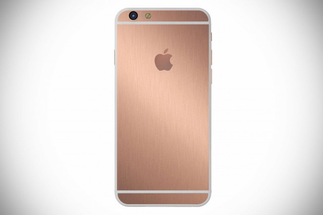 Gold iPhone by Hadoro Paris - Rose Gold Brush