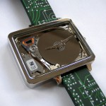 Wrist Watch Made Out of HDD is No Doubt the Ultimate Geek Watch