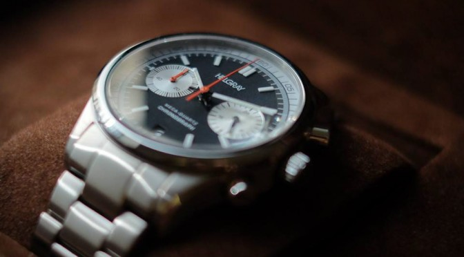 Helgray Silverstone 60s Racing Inspired Chronograph Watch