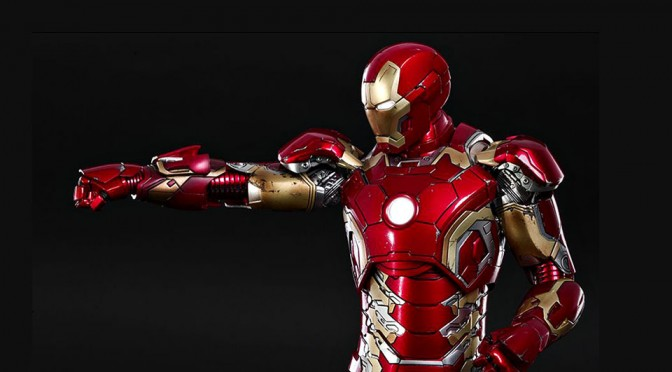 Finally, Hot Toys' Latest Iron Man Collectible Figure Gets The Deserving Metal Treatment