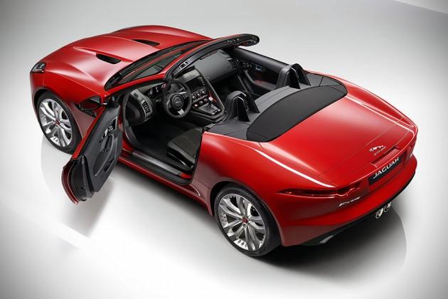 Jaguar F-TYPE S Manual Convertible