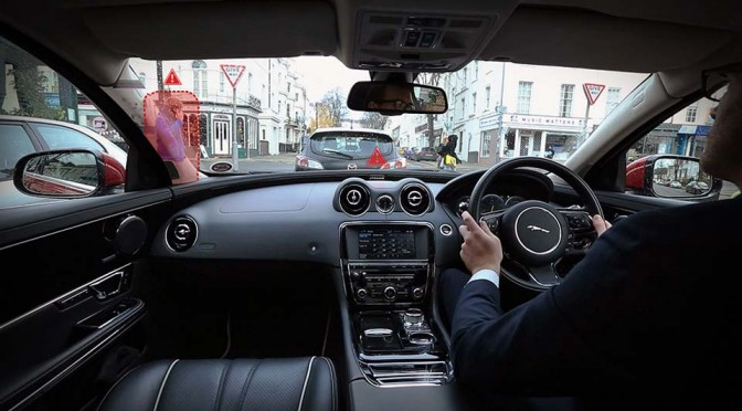 Jaguar Wants To Eliminate Blindspots Forever With 'Transparent' Pillars